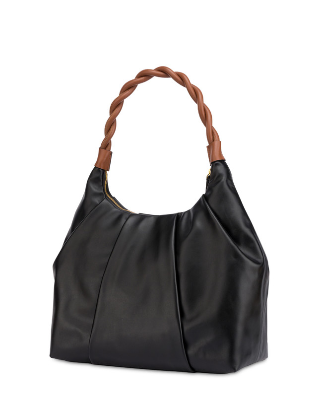 Aura hobo bag in calfskin Photo 3