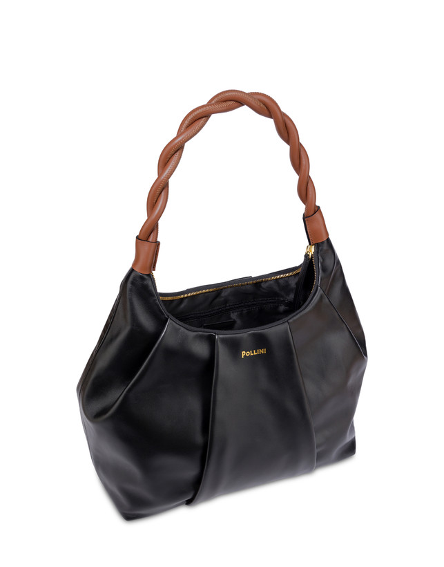 Aura hobo bag in calfskin Photo 4