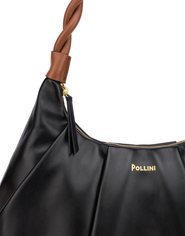 Aura hobo bag in calfskin Photo 6
