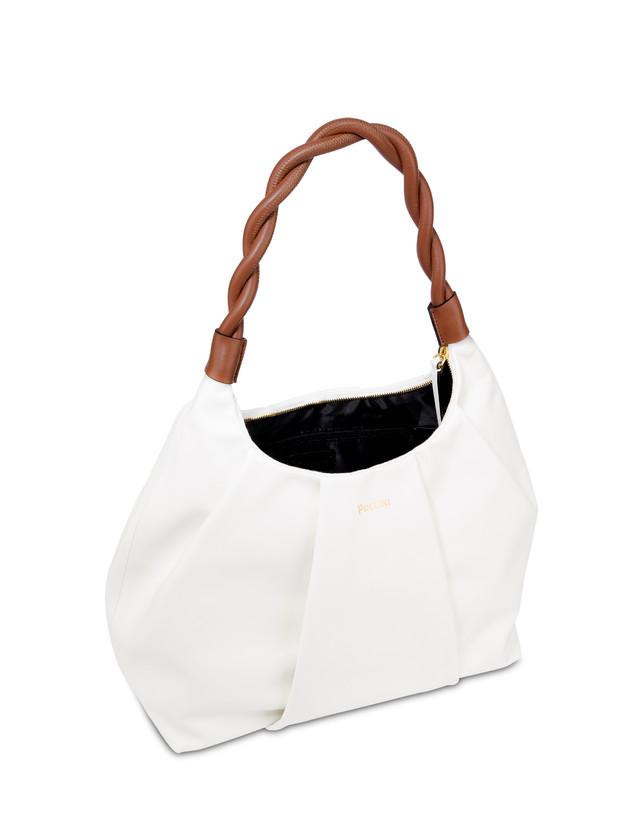 Aura hobo bag in calfskin Photo 4