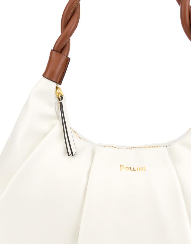 Aura hobo bag in calfskin Photo 6