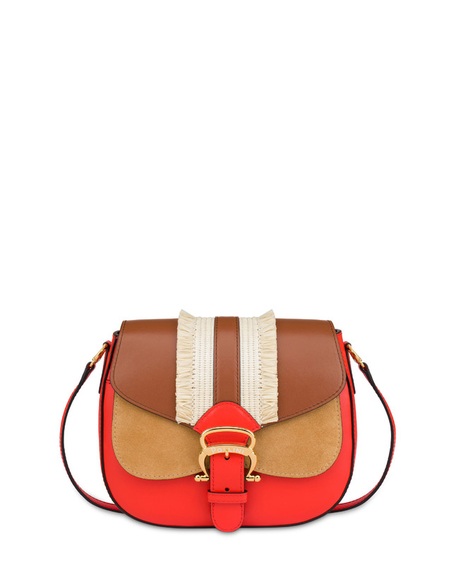 Giulietta Clamp shoulder bag with fringes Photo 1