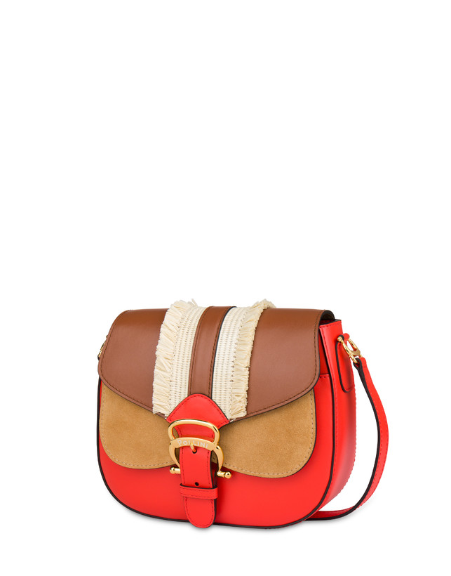 Giulietta Clamp shoulder bag with fringes Photo 2