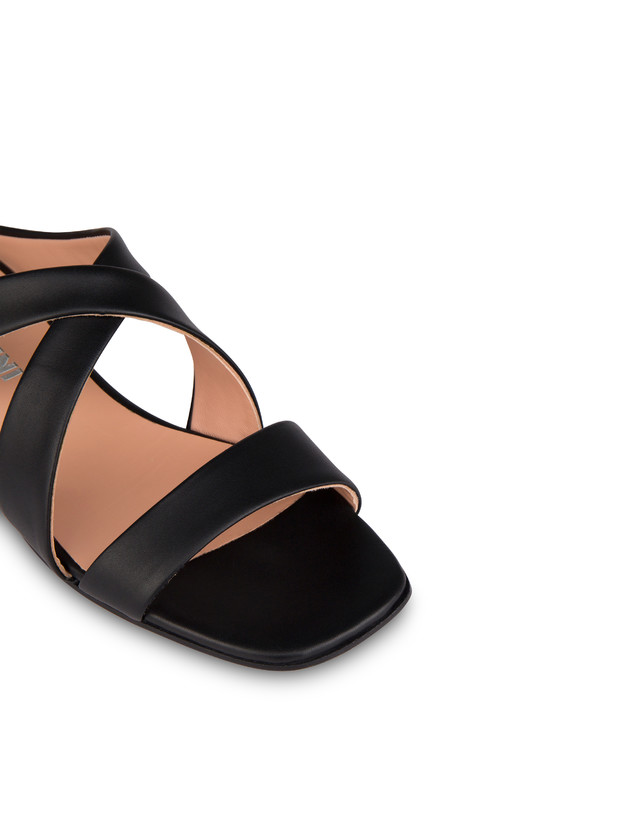 Cote D'Azur calfskin sandals Photo 4