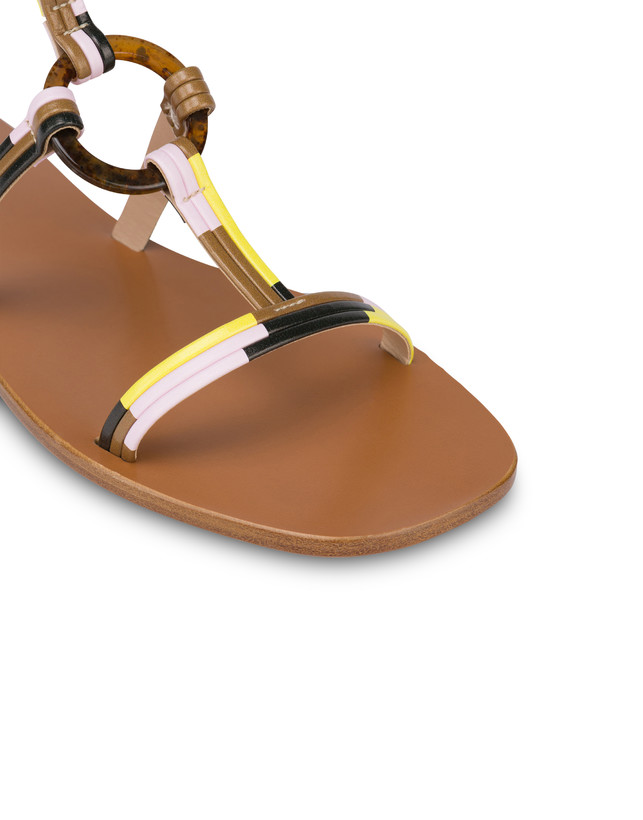Between The Lines flat sandals Photo 4