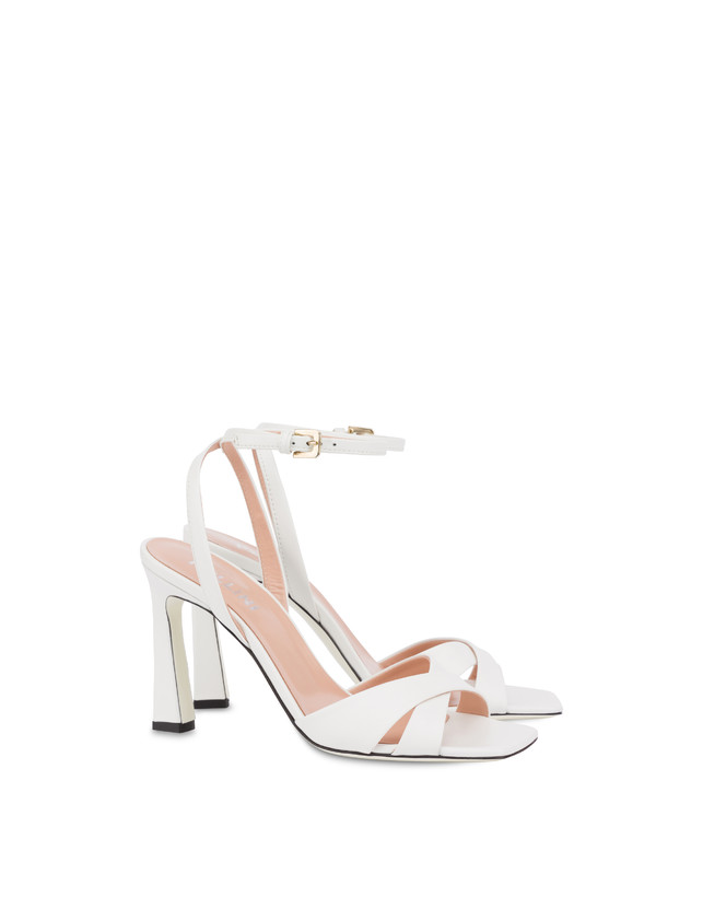 Cote D'Azur high sandals in calfskin Photo 2