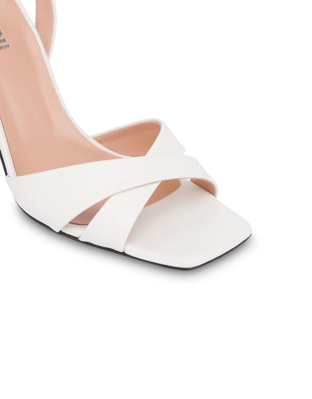 Cote D'Azur high sandals in calfskin Photo 4