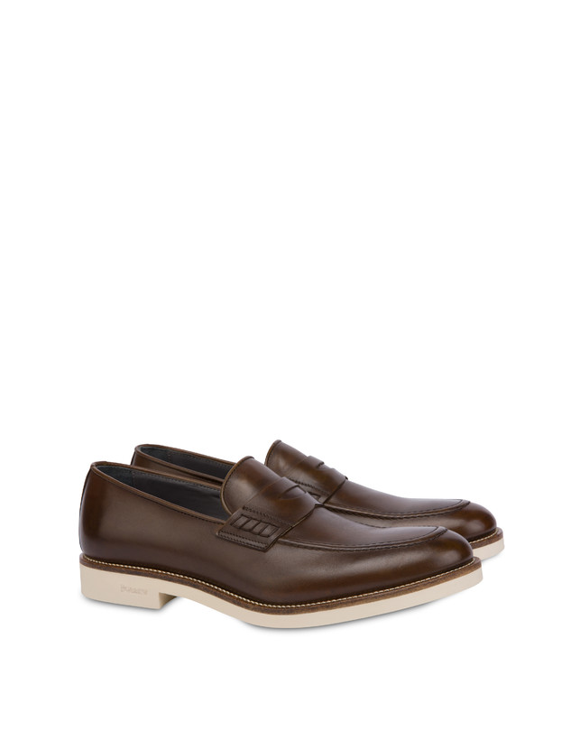 Corinto calfskin loafers Photo 2