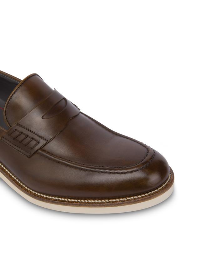 Corinto calfskin loafers Photo 5