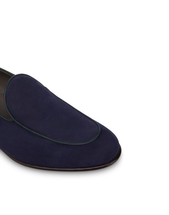 Nubuck and Azulejos calfskin loafers Photo 5