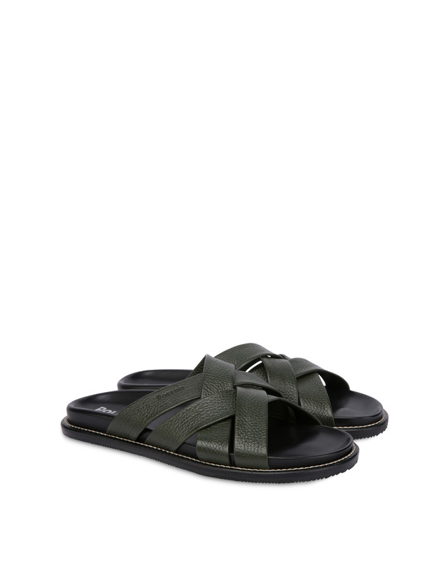 Saint Tropez calfskin sandals Photo 2