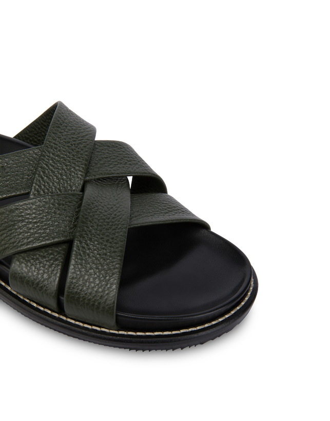 Saint Tropez calfskin sandals Photo 5