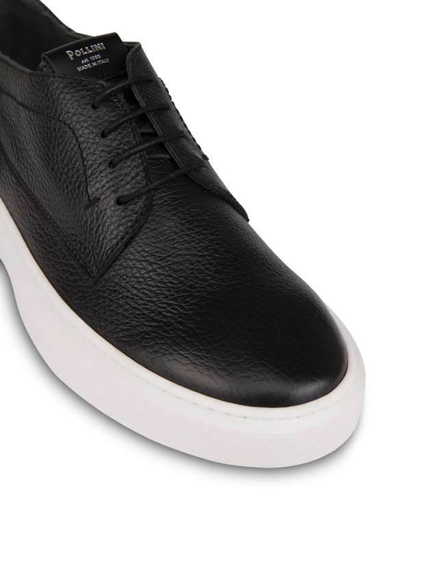 Navy calfskin sneakers Photo 5