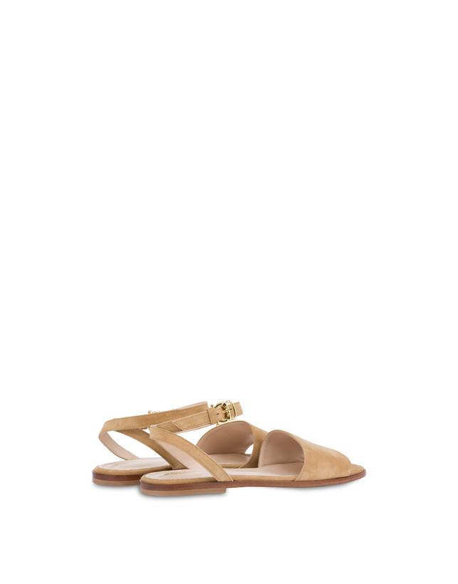 Flat suede sandals Photo 3