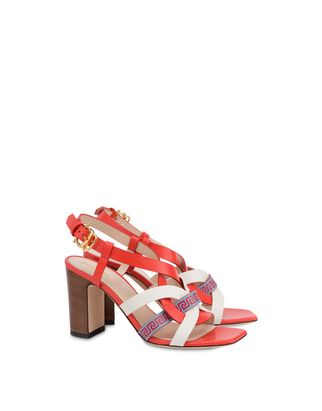 Greek Arco Wave calfskin sandals Photo 2