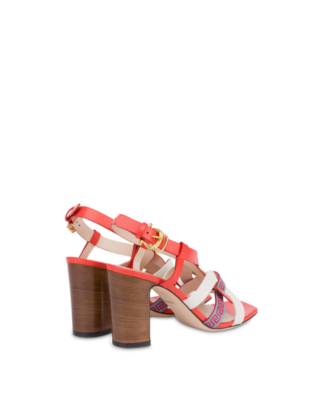 Greek Arco Wave calfskin sandals Photo 3