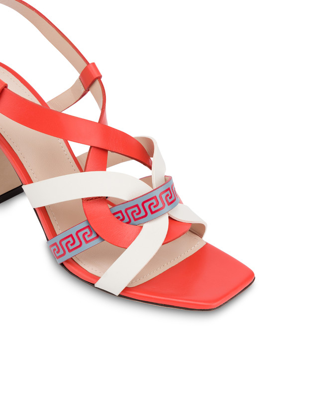 Greek Arco Wave calfskin sandals Photo 4