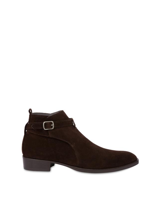 Promenade Des Anglais split leather ankle boots Photo 1
