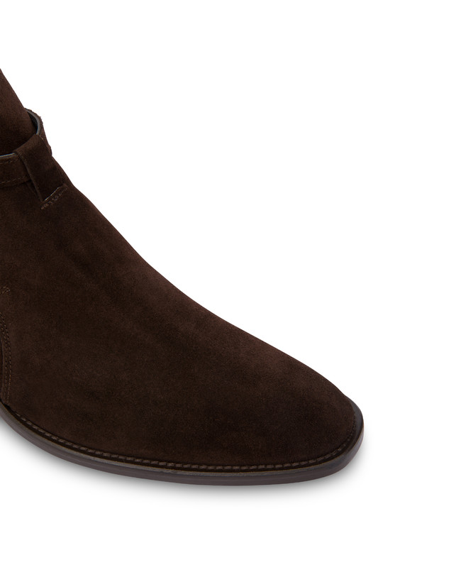 Promenade Des Anglais split leather ankle boots Photo 5
