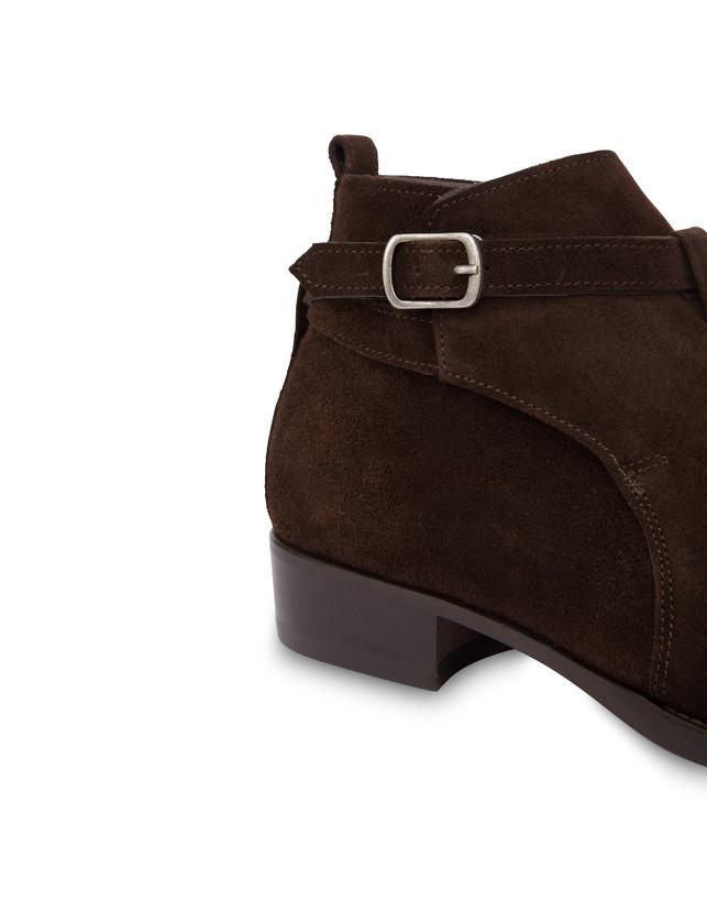 Promenade Des Anglais split leather ankle boots Photo 6