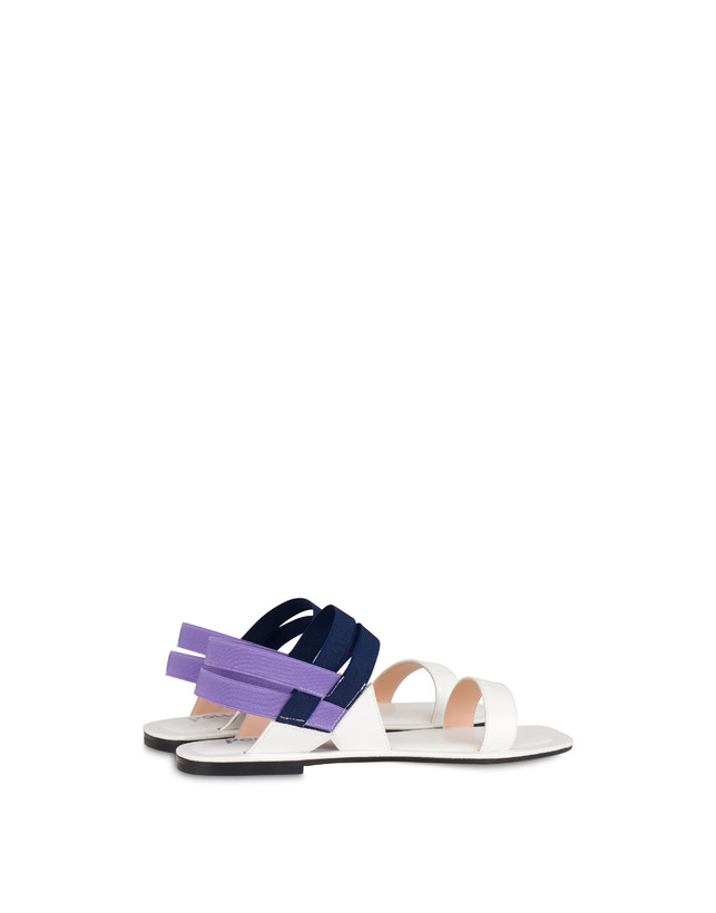 Greek Cross patent leather flat sandals Photo 3