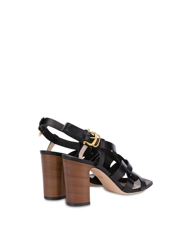 Greek Arco Wave cowhide high sandals Photo 3