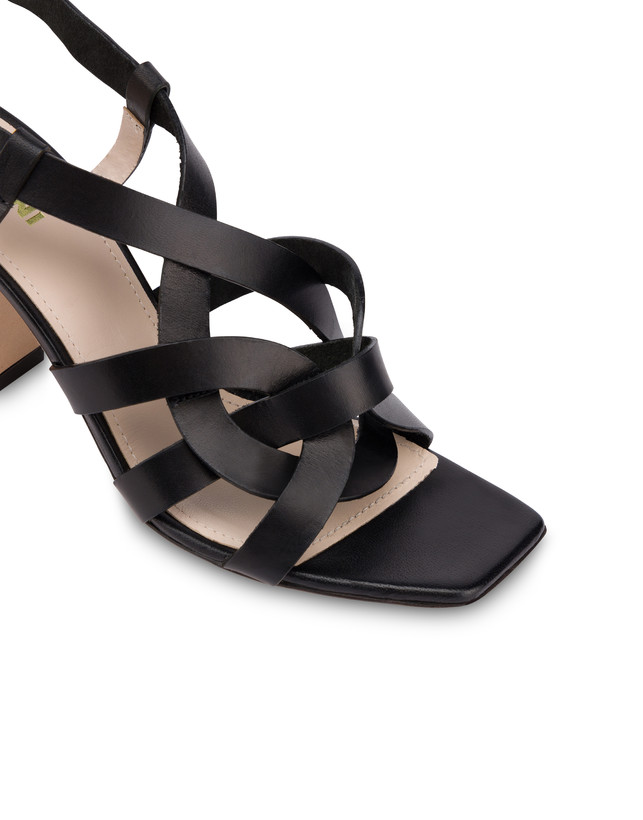 Greek Arco Wave cowhide high sandals Photo 4