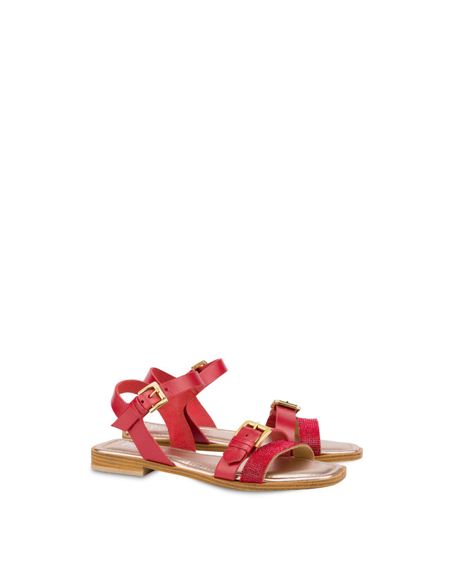 Islands cowhide sandals Photo 2