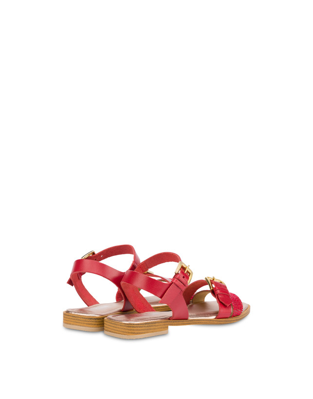 Islands cowhide sandals Photo 3