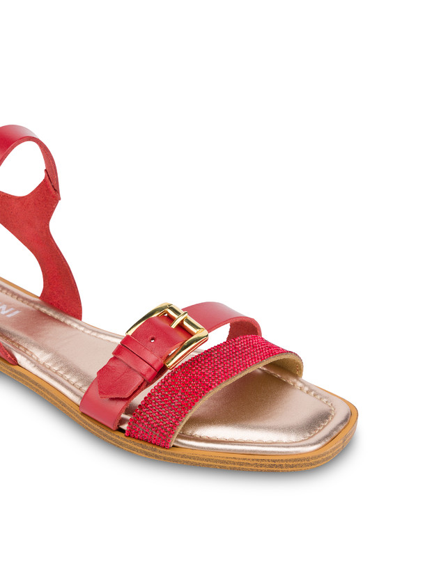 Islands cowhide sandals Photo 4