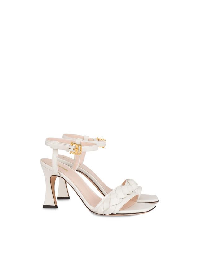 High sandals in Aura calfskin Photo 2