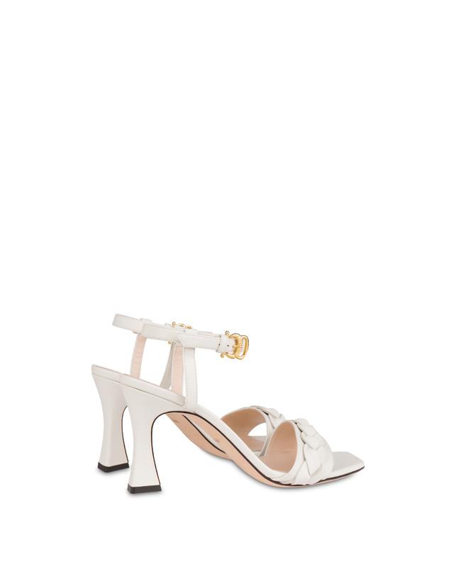 High sandals in Aura calfskin Photo 3