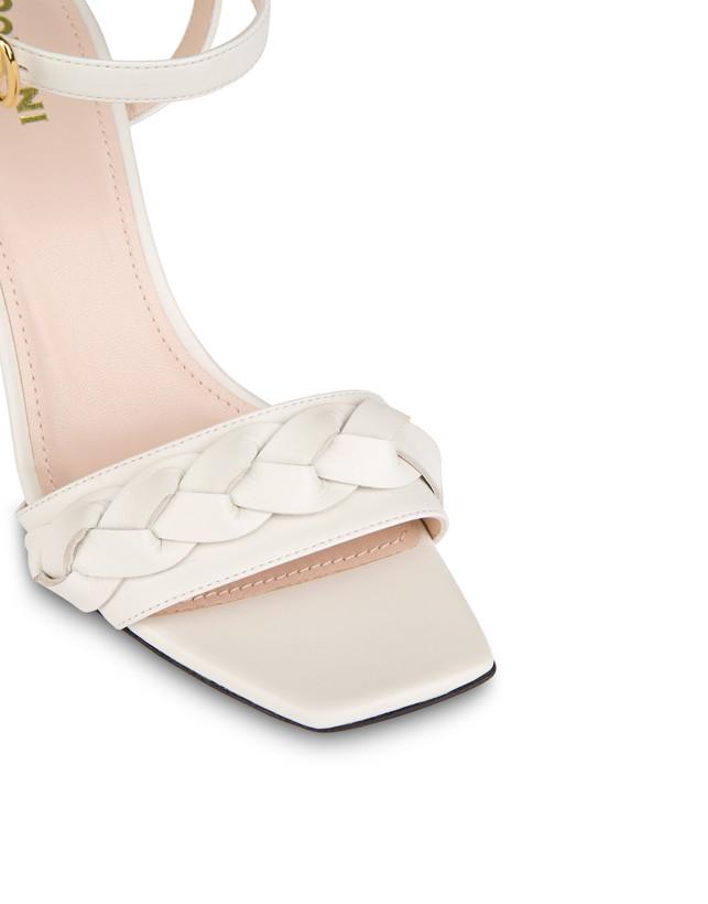 High sandals in Aura calfskin Photo 4