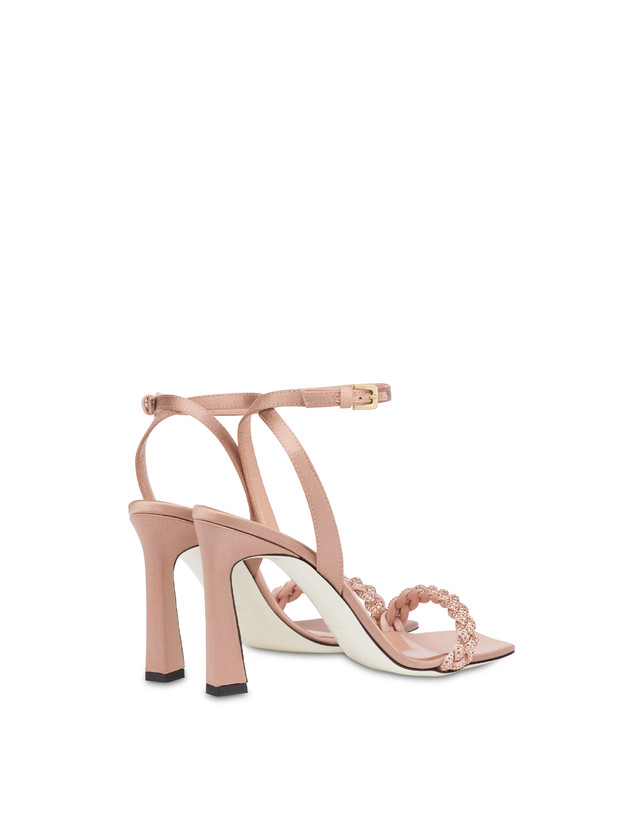 Starry Sky high satin sandals Photo 3