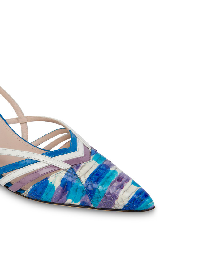 Febe painted elaphe slingbacks Photo 4