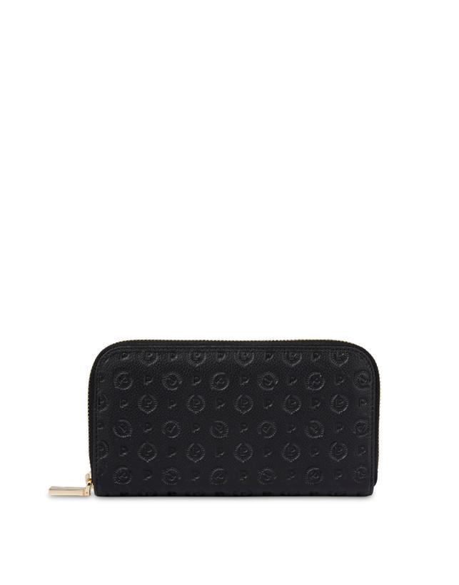 Heritage Logo Embossed zipper around wallet Photo 1