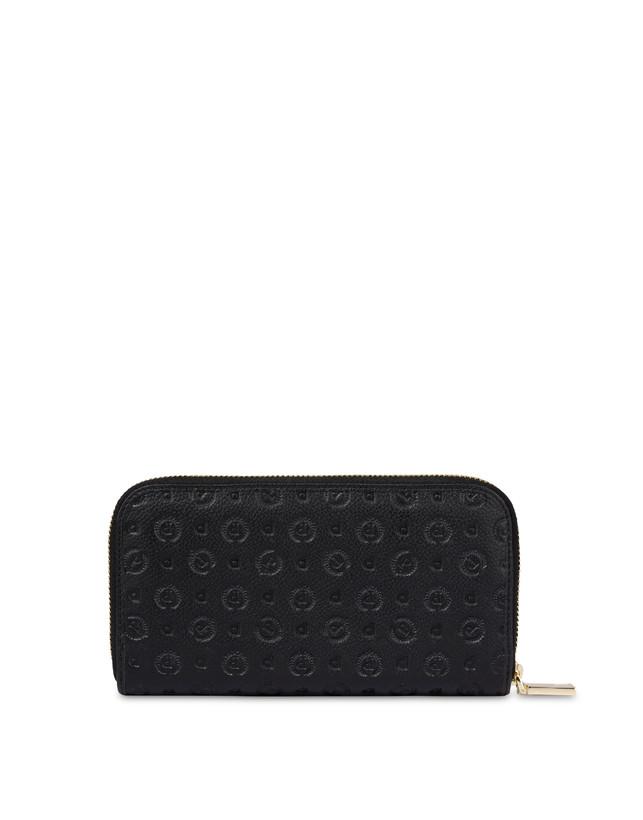 Heritage Logo Embossed zipper around wallet Photo 2