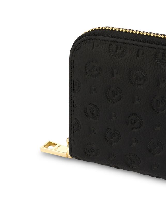 Heritage Logo Embossed zipper around wallet Photo 5