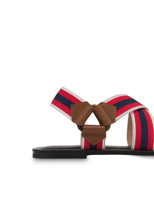 Serenissima flat elastic sandals Photo 5