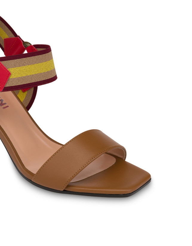 Serenissima leather sandals with elastic Photo 4