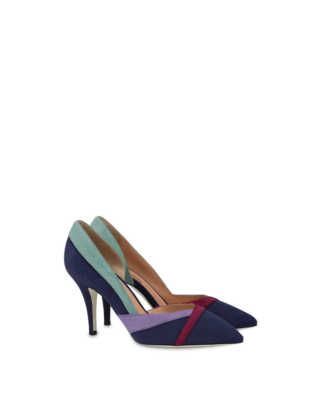 Promenade des Anglais suede pump Photo 2