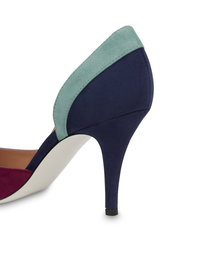 Promenade des Anglais suede pump Photo 5