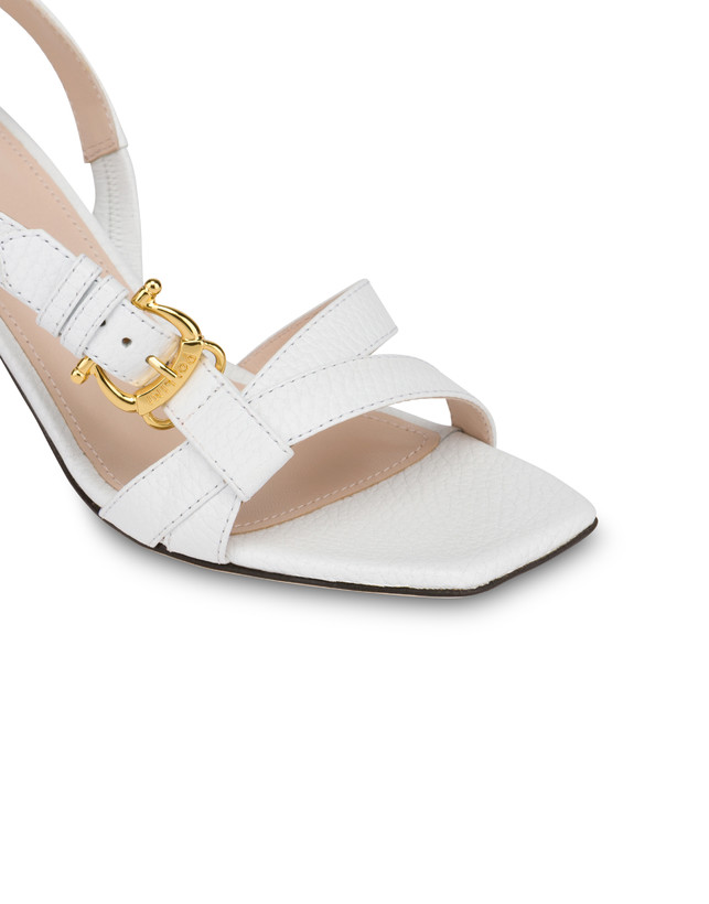 Buckle Notes calfskin sandals Photo 4