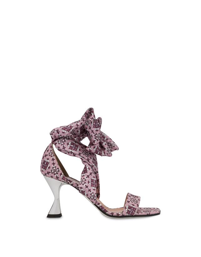 Azulejos satin sandals Photo 1