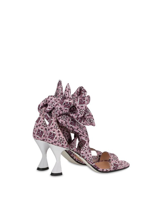 Azulejos satin sandals Photo 3