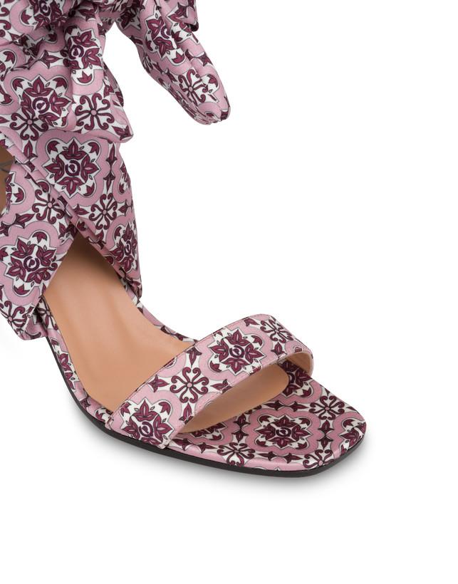 Azulejos satin sandals Photo 4