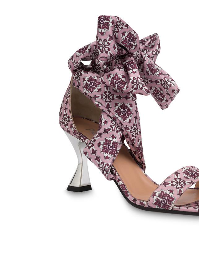 Azulejos satin sandals Photo 5