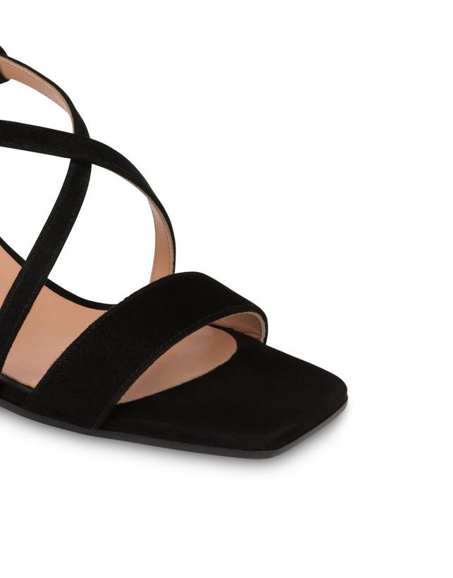 Corinto suede sandals Photo 4