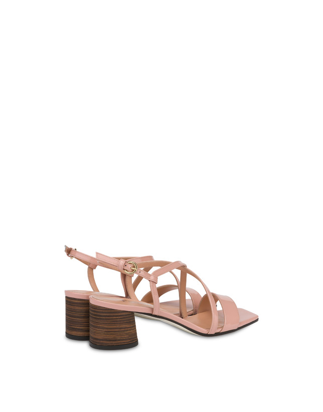 Corinto patent leather sandals Photo 3
