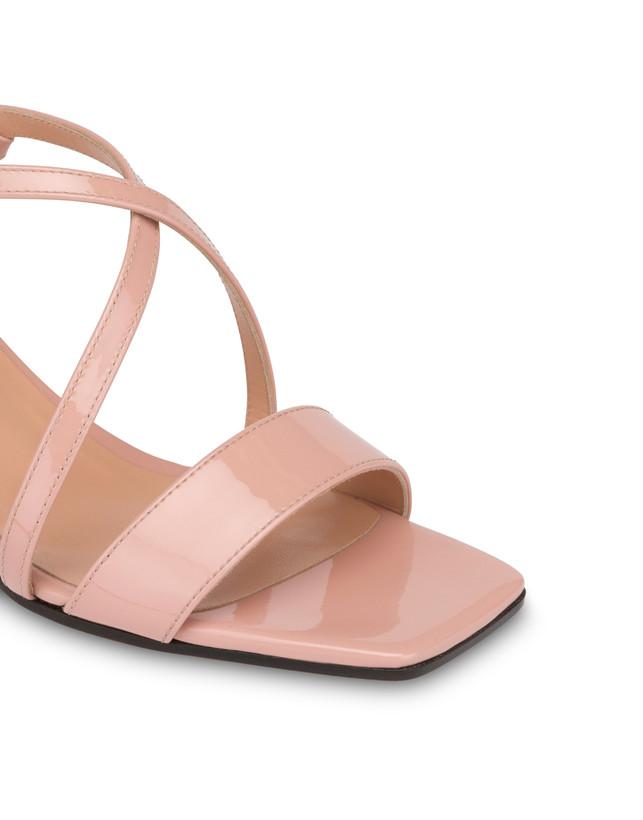 Corinto patent leather sandals Photo 4